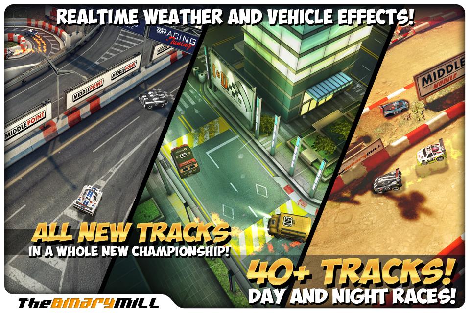 Mini Motor Racing iPhone, iPad Screenshot