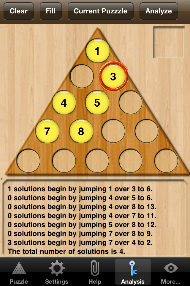 Screenshot Peg Pals Pro – Peg Solitaire Jump Puzzles with Solutions
